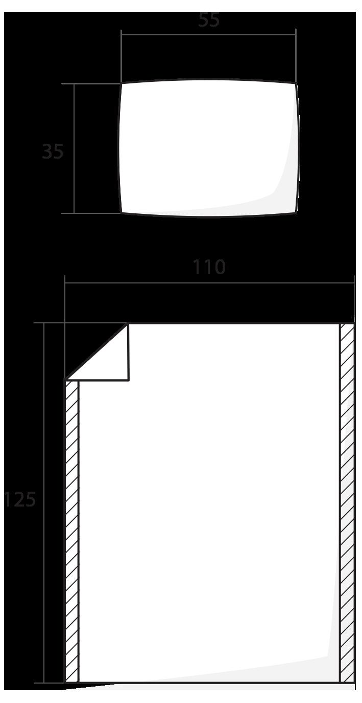 ilustrace dětské povlečení 110x125 cm