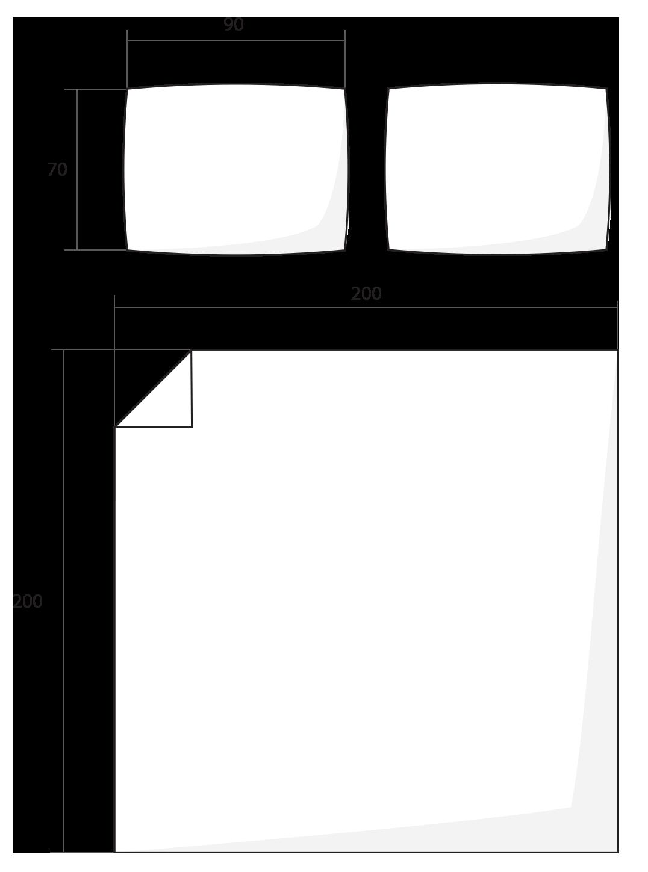 ilustrace francouzské povlečení 200x200