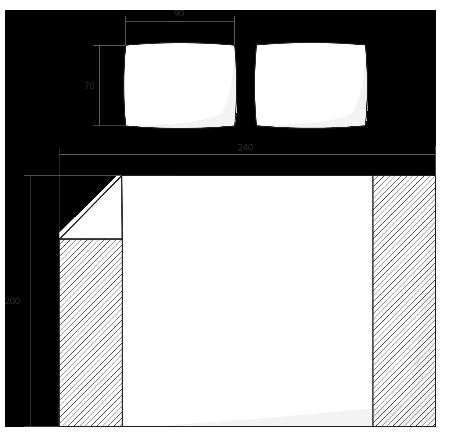 ilustrace francouzské povlečení 240x200