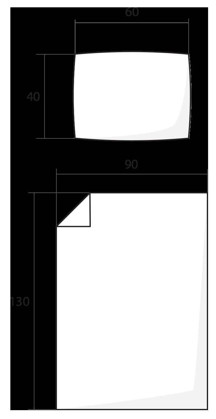 ilustrace dětské povlečení 90x130