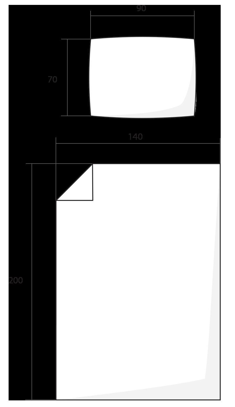 ilustrace standardní rozměr